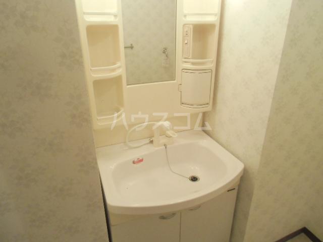 梅の里Ⅱ 105号室の洗面所