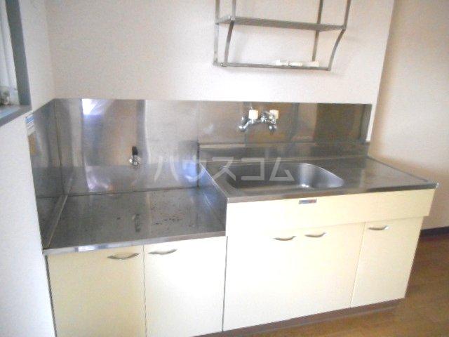 グリーンベル 202号室のキッチン