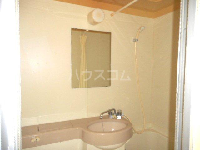 グリーンベル 202号室の洗面所
