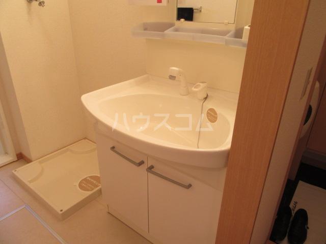 ハピネスウィルモア 203号室の洗面所