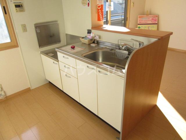ハピネスウィルモア 203号室のキッチン