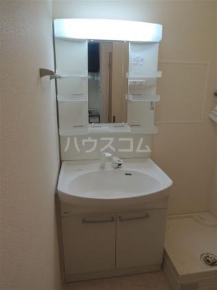 グランドゥール 203号室の洗面所