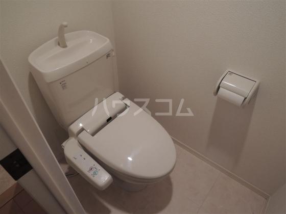 グランドゥール 203号室のトイレ