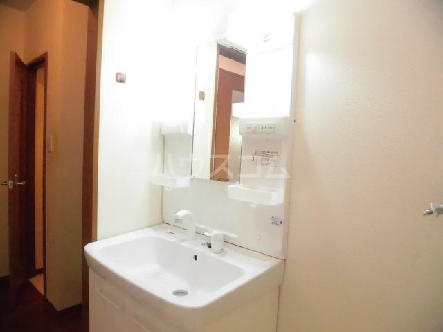 エクレール 101号室の洗面所