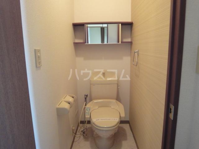 サンライトクロス 103号室のトイレ