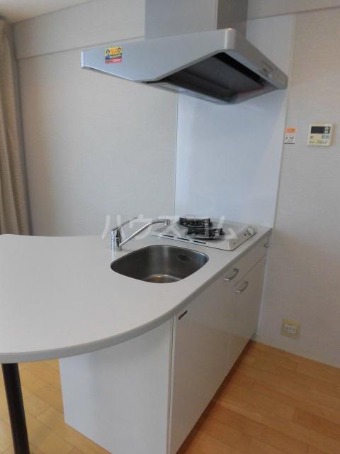 スマイルパークトダビル レジデンス 701号室のキッチン