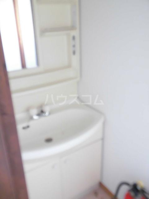 岩清水様アパート 2FS号室の洗面所