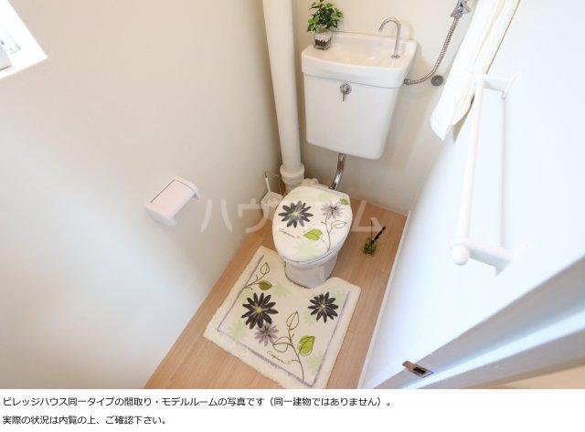 ビレッジハウス菊川1号棟 404号室のトイレ