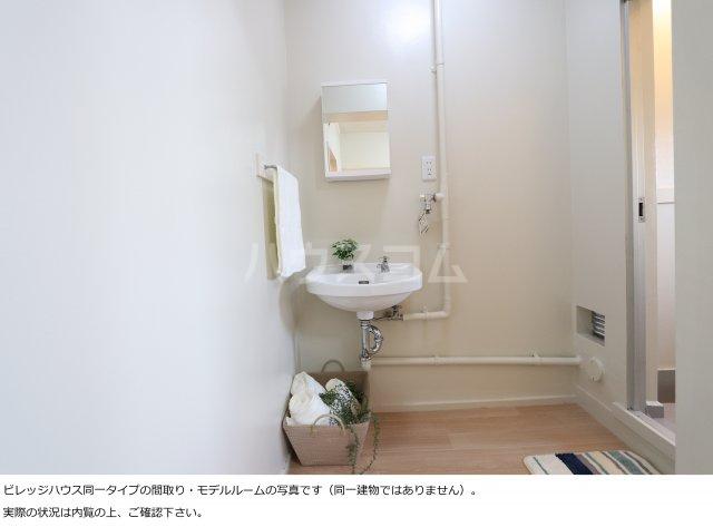 ビレッジハウス菊川1号棟 404号室の洗面所