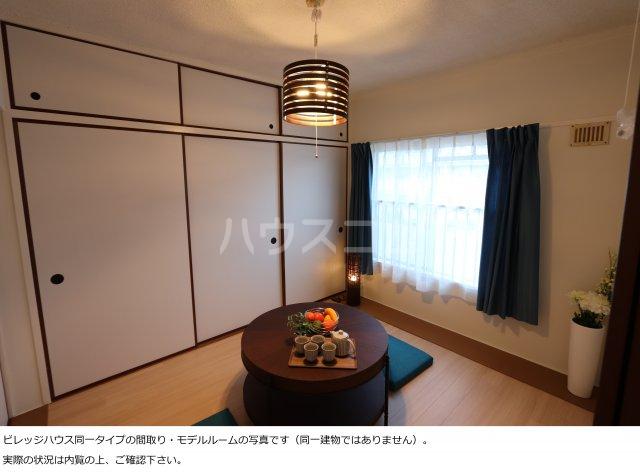 ビレッジハウス菊川1号棟 404号室のベッドルーム