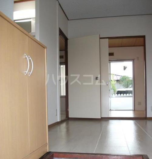 鶴田ハイツ 101号室の玄関