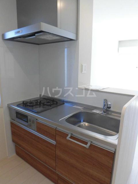 サンリット A棟 201号室のキッチン