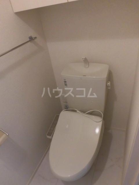 サンリット A棟 201号室のトイレ