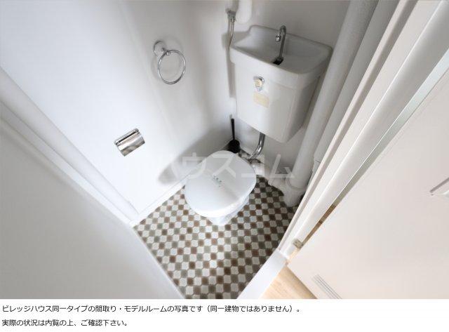 ビレッジハウス大東Ⅱ2号棟 107号室のトイレ