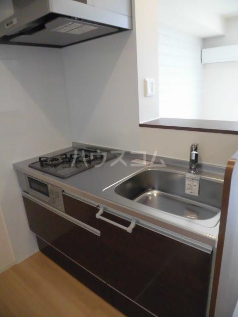 グランドソレイユⅡ 102号室のキッチン