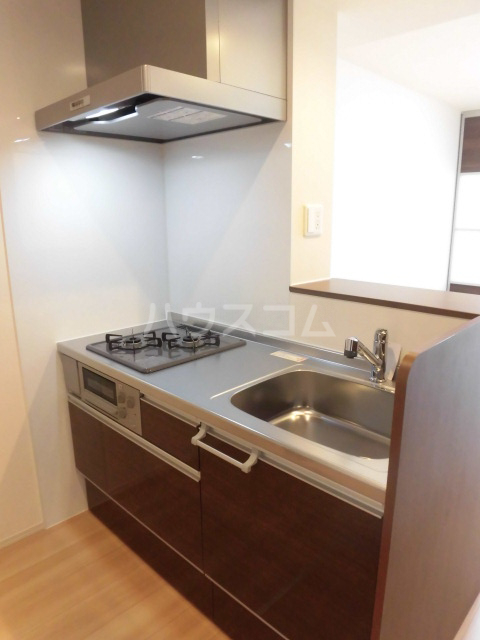 グランドソレイユⅡ 105号室のキッチン