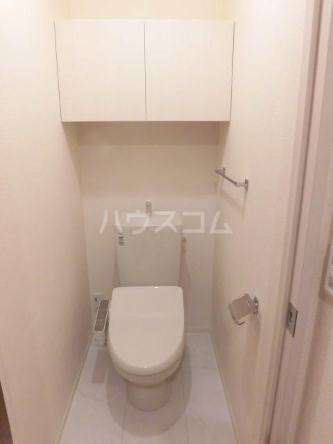 グランドソレイユⅡ 105号室のトイレ