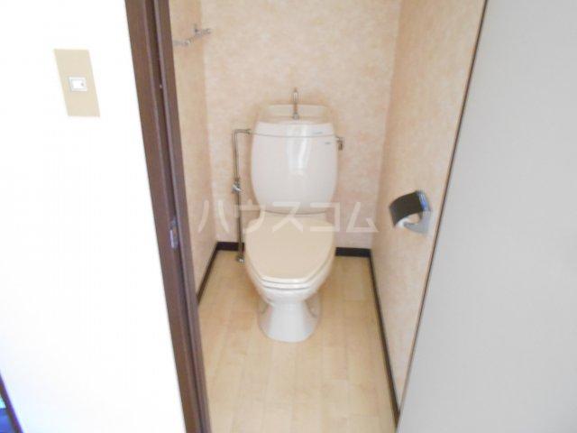 アルファメゾンB 102号室のトイレ