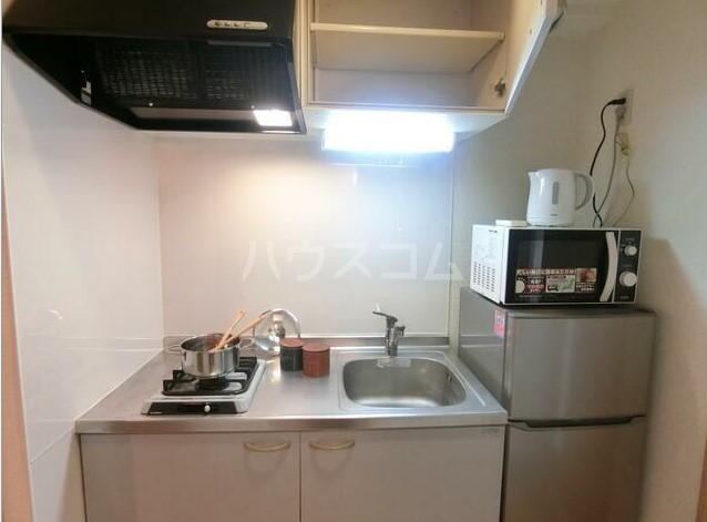 スカイコート中野第二 502号室のキッチン