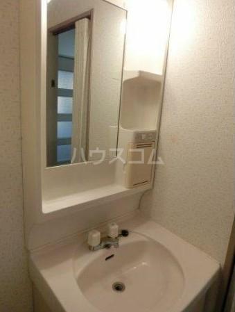 CASA・HIRO 301号室の洗面所