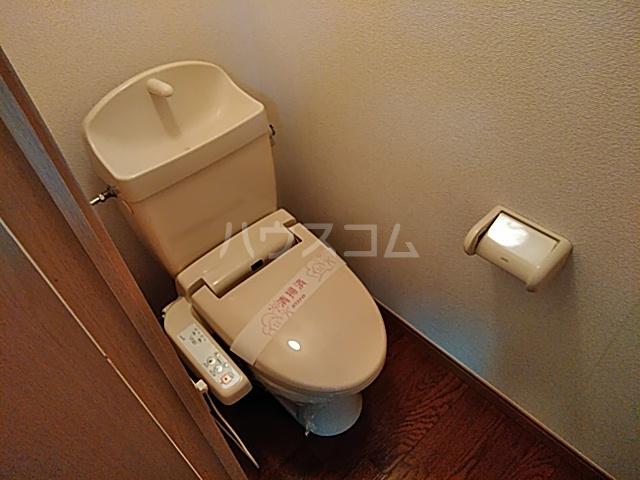 グランドールMOGI 101号室のトイレ