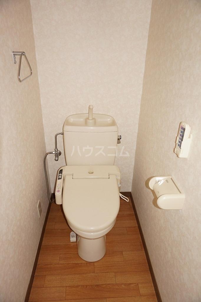 パールハイツCのトイレ