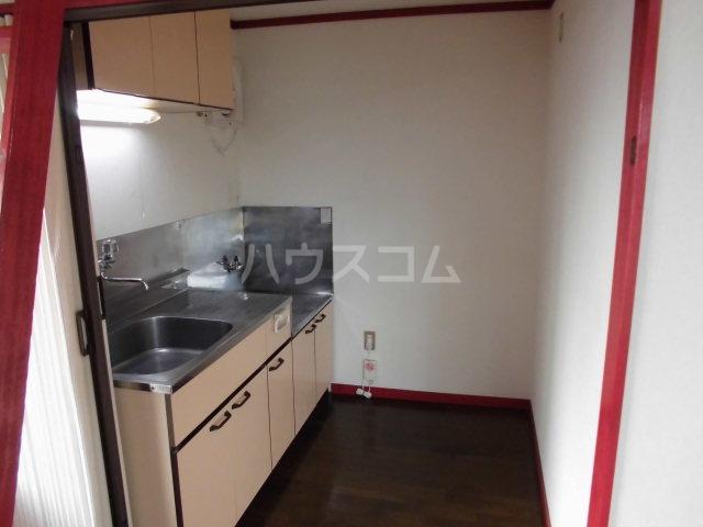 レオパレスモギ 202号室のキッチン