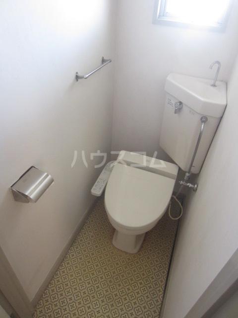 欅マンション 505号室のトイレ