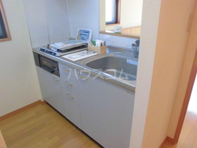 ラ・フレイズⅡ 1107号室のキッチン