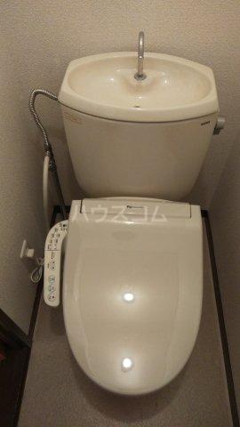 昭和コーポ前橋A棟 201号室のトイレ
