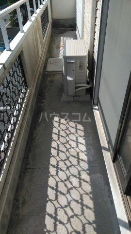 昭和コーポ前橋A棟 201号室のバルコニー