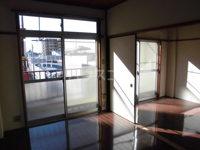 オギハラマンション北棟 201号室のベッドルーム