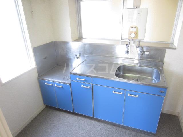 ジュネスシンソン北棟 101号室のキッチン