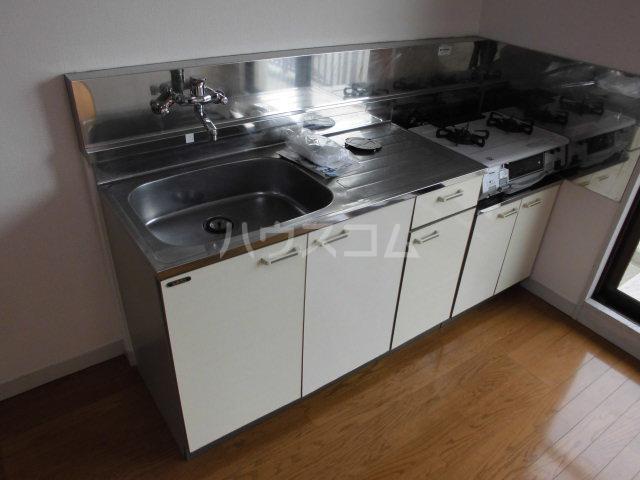 レジデンス輝樹Ⅱ 401号室のキッチン