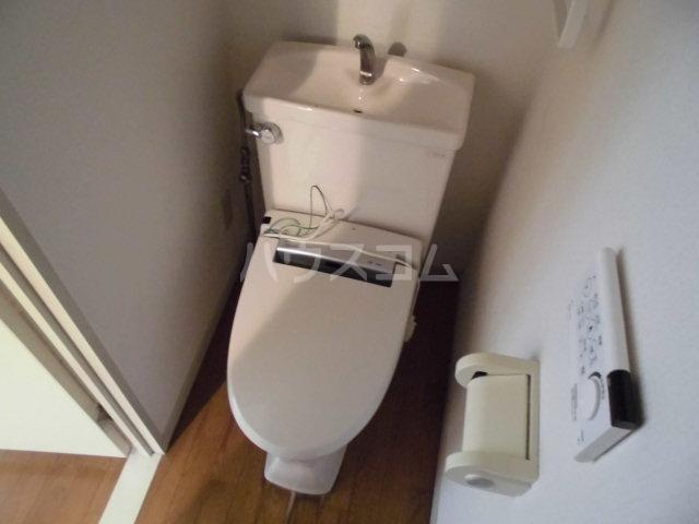 レジデンス輝樹Ⅱ 401号室のトイレ