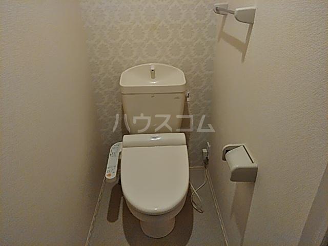 オペラハウス上大島C 206号室のトイレ