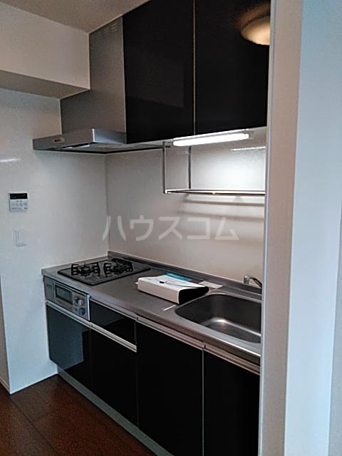 オペラハウス上大島C 206号室のキッチン