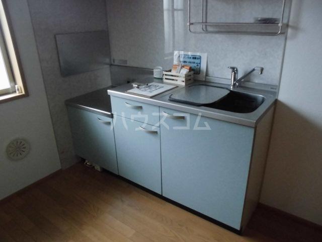 フラワーロード 203号室のキッチン