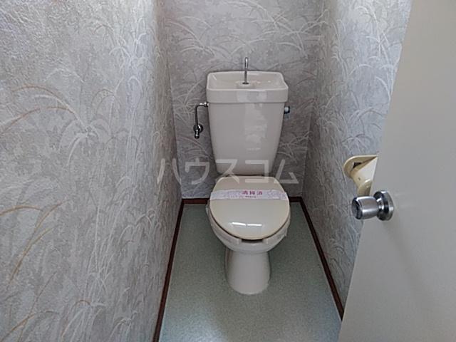 ホワイトタウンユザワ 201号室のトイレ