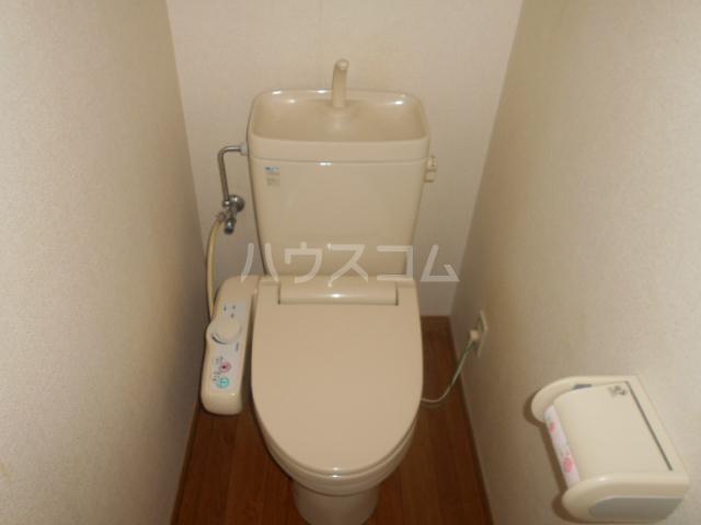 シルクヒルズB 102号室のトイレ