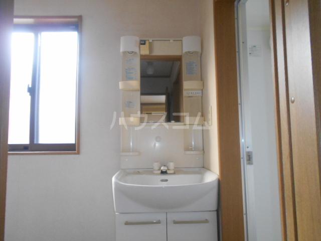 シルクヒルズB 102号室の洗面所