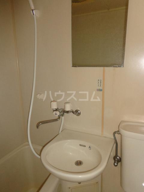 ウィングハイツ片貝 202号室の風呂