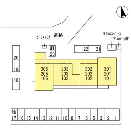 Famille Maebashi 105号室のその他