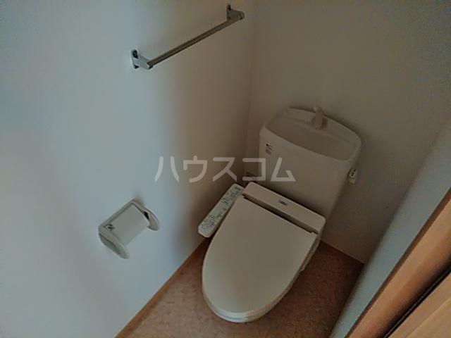 リリーハウスA 203号室のトイレ