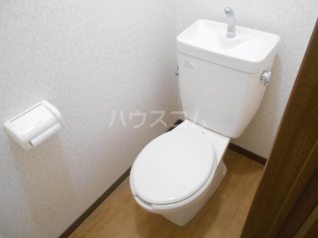 プリジェール太子道 205号室のトイレ