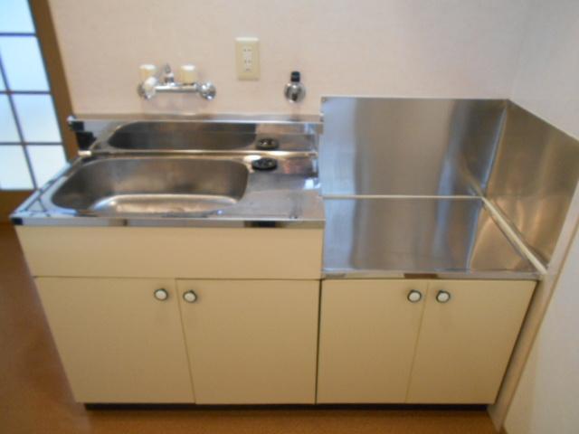 エレガンス西院 208号室のキッチン