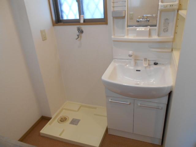 エレガンス西院 208号室の洗面所