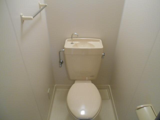 エレガンス西院 208号室のトイレ