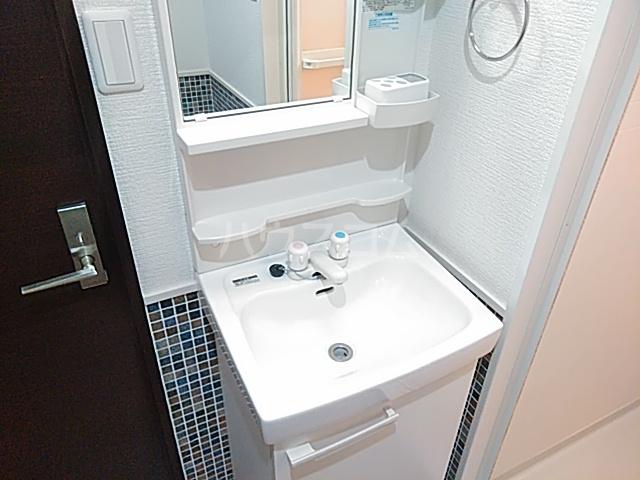 グランドーリア西院 4-C号室の洗面所