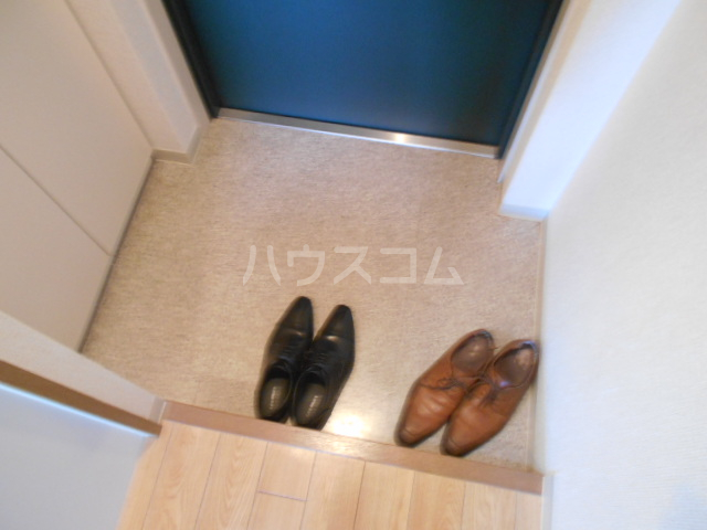 INFINITY 202号室の玄関